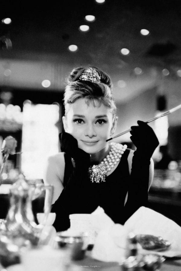 Audrey Hepburn - Breakfast at Tiffany's B&W