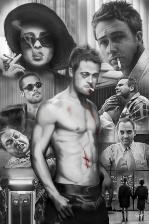 Fight Club - Collage