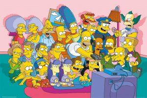 Simpsons - Sofa Cast