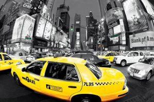 New York - Rush Hour Yellow Cab