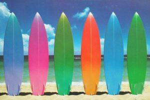Beach - Surfboards