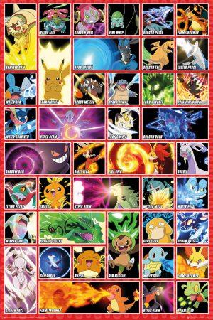 Pokemon - Moves