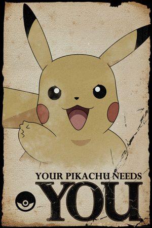 Pokemon - Pikachu Needs You
