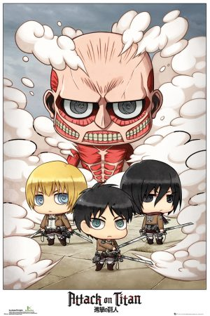 Attack On Titan - Chibi Group
