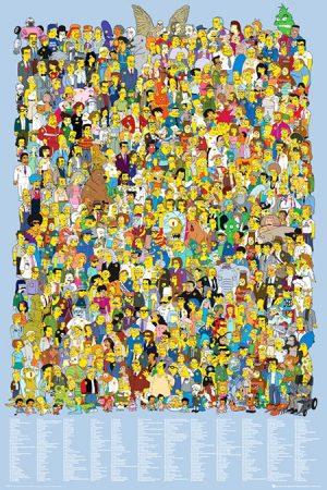 Simpsons - Cast