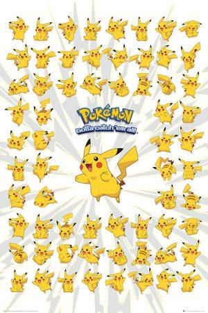 Pokemon - Pikachu Poses