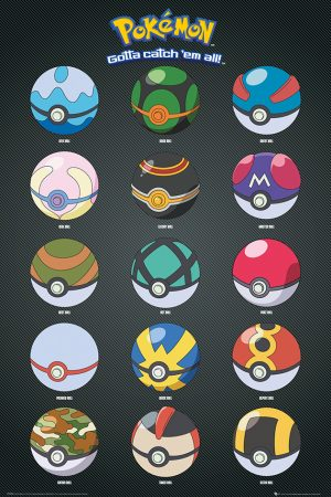 Pokemon - Pokeballs