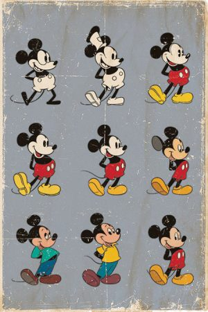 Mickey Mouse - Evolution