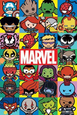 Marvel - Kawaii Charcters